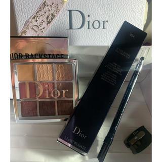 クリスチャンディオール(Christian Dior)のDoir バックステージアイシャドウ&ウォータープルーフアイライナー❤️新品(アイシャドウ)