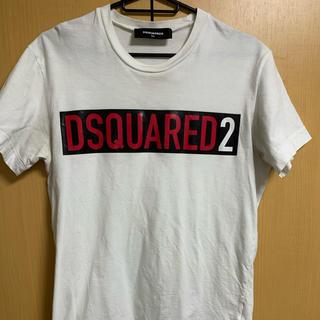 ディースクエアード(DSQUARED2)のDSQUARED2 白Tシャツ xsサイズ(Tシャツ/カットソー(半袖/袖なし))