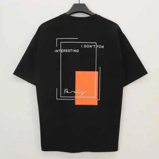 【日本未入荷】Reicy オーバーフィットライン 半袖Tシャツ 韓国 20SS