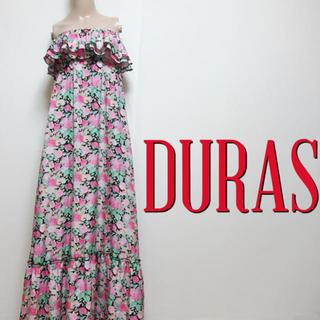 DURAS - 超足長♪デュラス 大人フリル ベアマキシワンピース♡ジルスチュアート スナイデル
