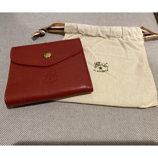 イルビゾンテ(IL BISONTE)のイルビゾンテ IL BISONTE 二つ折り がま口財布 C0423(財布)