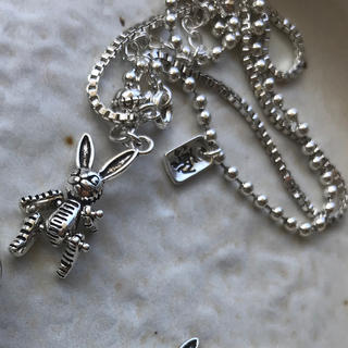 ALGONQUINS - vintage rabbit necklace