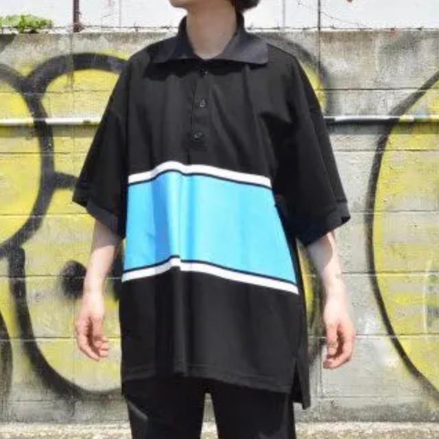 SUNSEA(サンシー)のNEON SIGN ポロシャツ ビッグポロシャツ メンズのトップス(ポロシャツ)の商品写真