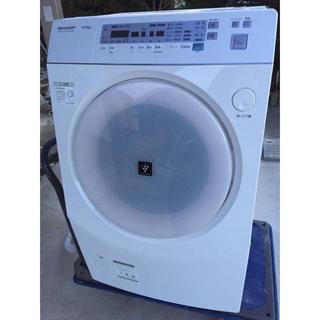 SHARP - シャープ  ドラム式洗濯乾燥機 ES-V520-VL ピンク