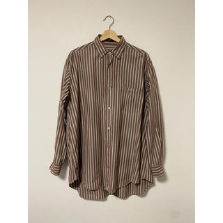 ヨウジヤマモト(Yohji Yamamoto)のY'sformen コットンマルチカラーストライプ オーバーサイズシャツ 90s(シャツ)
