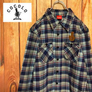 ココロブランド(COCOLOBLAND)の激レア【CoCoLo BLAND】厚手 ネルシャツ ジャケット!!(シャツ)