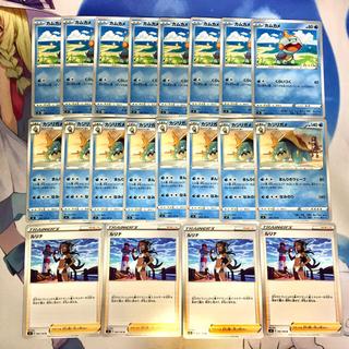 ポケモン - ポケモンカード 20枚セット(ルリナ/カジリガメ/カムカメ)