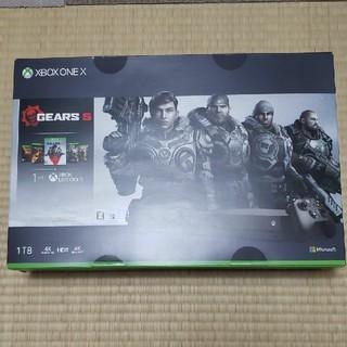 エックスボックス(Xbox)のXBOX ONE X 1TB Xbox One(家庭用ゲーム機本体)