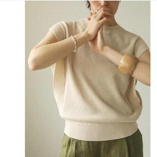 TODAYFUL - TODAYFUL sleeveless linen knit