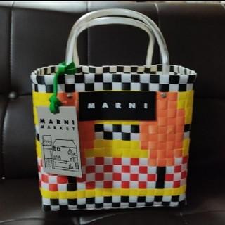 マルニ(Marni)の新品 MARNI マルニ かごバッグ カゴバッグ マルニフラワーカフェ(かごバッグ/ストローバッグ)