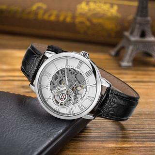 海外スケルトン腕時計 お値下げ中4480円にて(腕時計(アナログ))