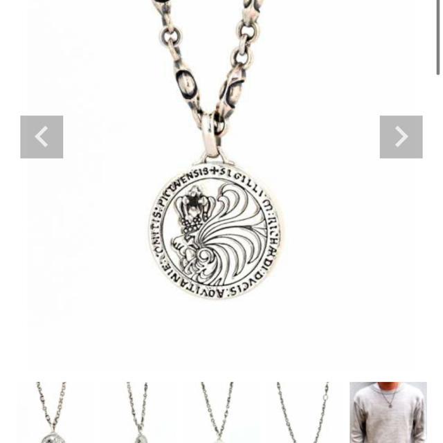 LION HEART(ライオンハート)のライオンハートネックレス メンズのアクセサリー(ネックレス)の商品写真