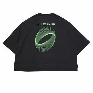 ジエダ(Jieda)のJieDa CIRCLE PRINT T-SHIRT BLACK(Tシャツ/カットソー(半袖/袖なし))