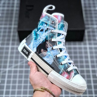 Dior - Dior B23 Oblique High Top Sneakers