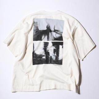 ジエダ(Jieda)のJieDa × renoma PHOTO T-SHIRT WHITE(Tシャツ/カットソー(半袖/袖なし))