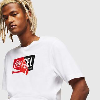 ディーゼル(DIESEL)のdiesel コカコーラコラボTシャツ(Tシャツ/カットソー(半袖/袖なし))