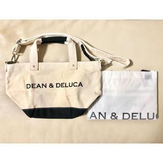 DEAN & DELUCA - DEAN&DELUCA ショルダー付 キャンバス トートバッグ + エコバッグ
