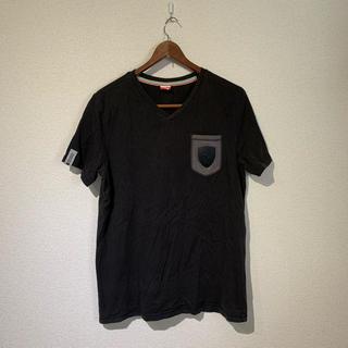 プーマ(PUMA)のPUMA Ferrari プーマカットソー tシャツ 黒 コラボ ウェア(Tシャツ/カットソー(半袖/袖なし))