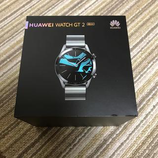 アンドロイド(ANDROID)のファーウェイウォッチgt2 46mm(腕時計(デジタル))