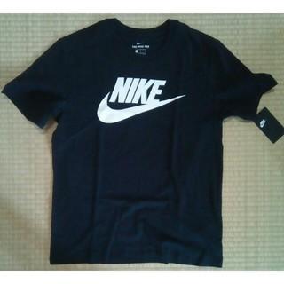 ナイキ(NIKE)の新品未使用 ナイキ  Tシャツ  ブラック  サイズM(Tシャツ/カットソー(半袖/袖なし))