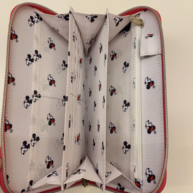 Francfranc(フランフラン)の限定一点。ディズニー ミニー マルチケース マルチポーチ 母子手帳ケース ピンク キッズ/ベビー/マタニティのマタニティ(母子手帳ケース)の商品写真