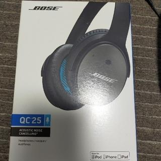 ボーズ(BOSE)のBOSE QC25 ヘッドホン(ヘッドフォン/イヤフォン)