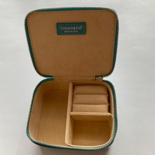 ティファニー(Tiffany & Co.)の✨新品未使用 日本未入荷 ティファニー レザージュエリーケース(小物入れ)