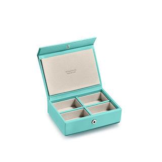 ティファニー(Tiffany & Co.)の新作 新品未使用 ティファニー レザースモール マルチボックス(小物入れ)