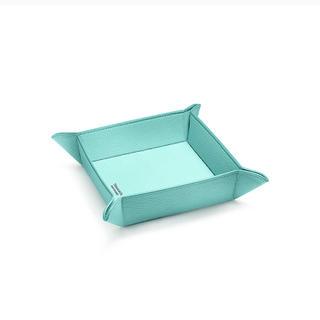 ティファニー(Tiffany & Co.)の✨新作ティファニーキャッチオールトレーティファニーブルーレザー(小物入れ)