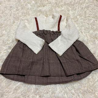 プティマイン(petit main)のプティマイン トップス 110cm  (Tシャツ/カットソー)
