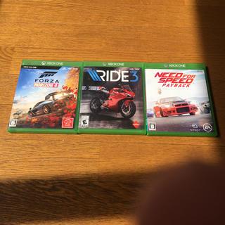 エックスボックス(Xbox)のForza Horizon4   Need for speed payback(家庭用ゲームソフト)