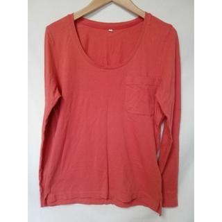 ムジルシリョウヒン(MUJI (無印良品))の無印良品 ロンT カットソー M(Tシャツ(長袖/七分))