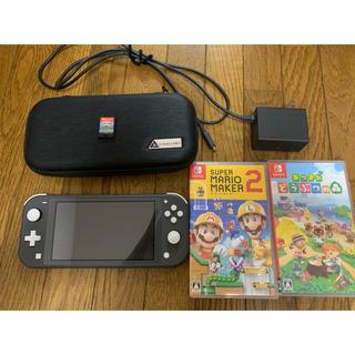 Nintendo Switch - Switch 本体とソフト3個セットあつまれどうぶつの森マリオメーカ2