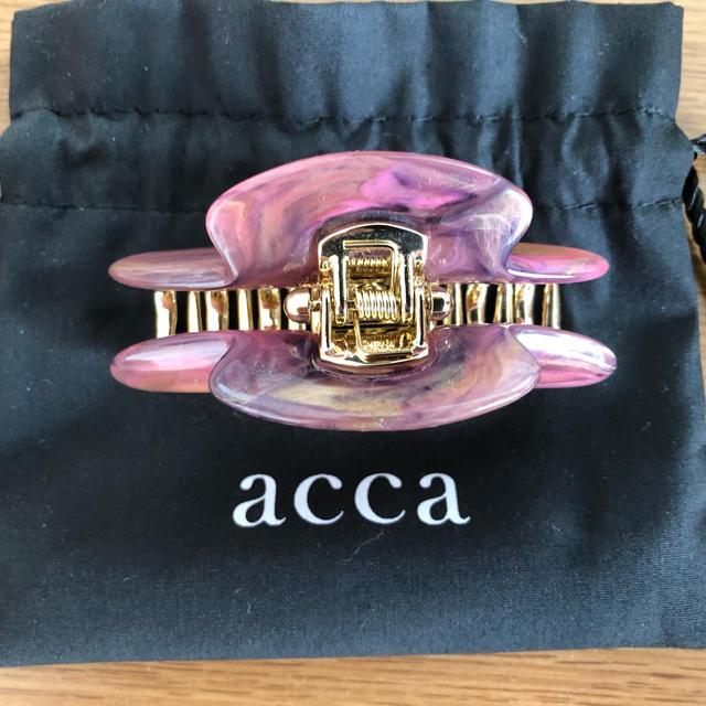 acca(アッカ)のacca ロンクリップ レディースのヘアアクセサリー(バレッタ/ヘアクリップ)の商品写真