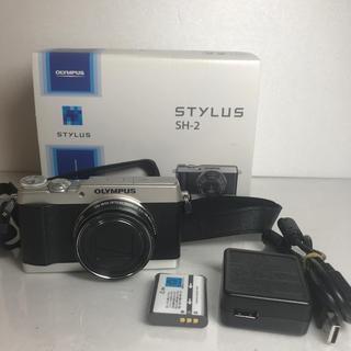 OLYMPUS - olympus stylus sh-2 コンパクトカメラ