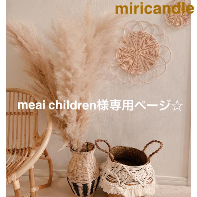 meai children様 専用ページになります。 ハンドメイドのフラワー/ガーデン(ドライフラワー)の商品写真
