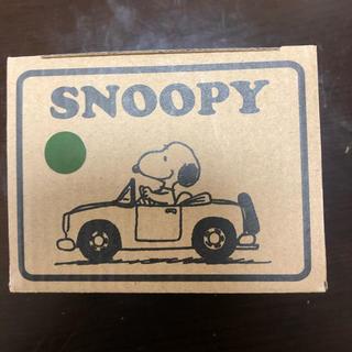SNOOPY - スヌーピー ゆったりマグカップ 新品未使用 緑