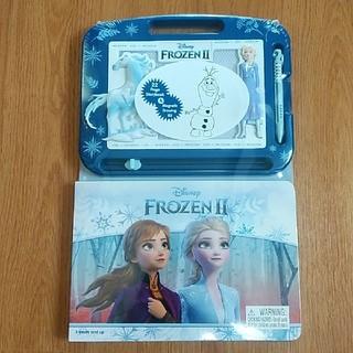 ディズニー(Disney)のディズニー プリンセス アナ雪2 お絵かきボード(英語・知育本)新品・未開封(知育玩具)