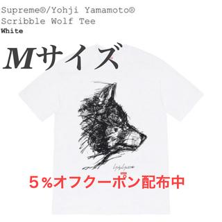 シュプリーム(Supreme)のSupreme Yohji Yamamoto Scribble Wolf Tee(Tシャツ/カットソー(半袖/袖なし))