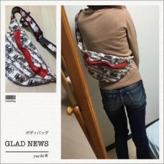 グラッドニュース(GLAD NEWS)の最終値下げ*ボディバッグ(ボディバッグ/ウエストポーチ)