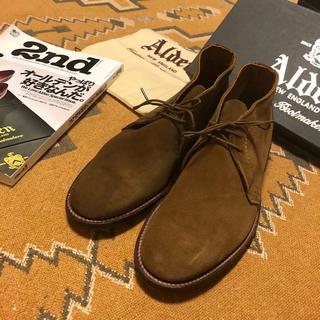 Alden - 新品 未使用 オールデン  alden チャッカ ブーツ 靴 スウェード