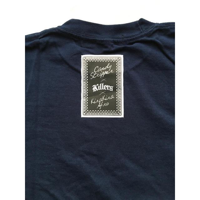 Candy Stripper(キャンディーストリッパー)の新品 CANDY STRIPPER×きらきらアフロ KILLERS Tシャツ エンタメ/ホビーのタレントグッズ(お笑い芸人)の商品写真