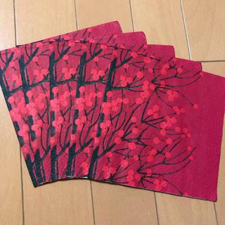 マリメッコ(marimekko)のペーパーナプキン   マリメッコ   L - ⑦    5枚(各種パーツ)