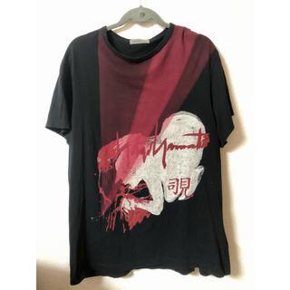 ヨウジヤマモト(Yohji Yamamoto)のYohji Yamamoto 新撰組 プリント コットン天竺 Tシャツ (Tシャツ/カットソー(半袖/袖なし))