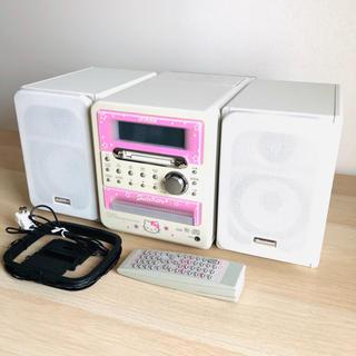 Victor - ビクター ハローキティー CD&MD&テープ ミニコンポ ジャンク