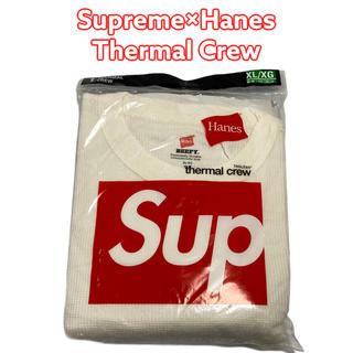 シュプリーム(Supreme)のSupreme Hanes Thermal Crew XL ヘインズ サーマル(Tシャツ/カットソー(七分/長袖))