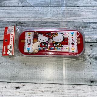ハローキティ(ハローキティ)のキティちゃん ランチセット ランチトリオ(弁当用品)