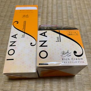 イオナ(IONA)のイオナエフ ローション&クリーム セット(化粧水/ローション)