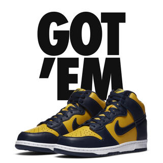 "NIKE - NIKE DUNK HIGH ""MICHIGAN"