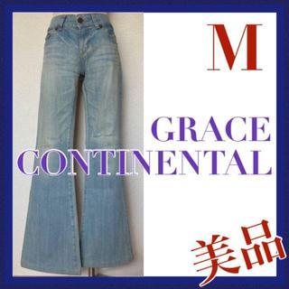 グレースコンチネンタル(GRACE CONTINENTAL)の美品 グレースコンチネンタル GRACE ブーツカット デニム ジーンズ 36(デニム/ジーンズ)